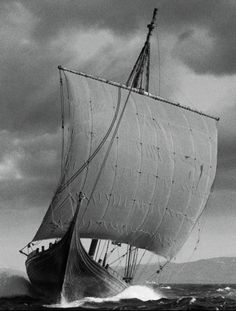 The world's largest Viking ship, Draken Harald Hårfagre, is currently sailing the Great Lakes. Expedition route can be viewed here: http://www.drakenexpeditionamerica.com/route/