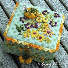 Gipsy Quilt: Yellows Pumpkins...