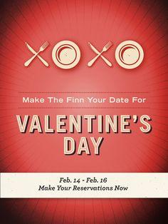 restaurant print advertisement valentine's dayloïc seigland, Ideas