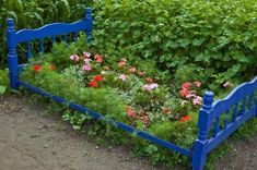 """This guide is about how to make a garden """"bed"""" out of an old bed frame. A bed frame can make a defined raised garden space, and look cute, too."""
