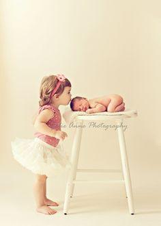 Newborns photo idea-maybe one day