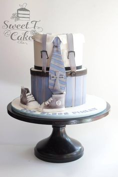 Chritening suit cake - Cake by Tina