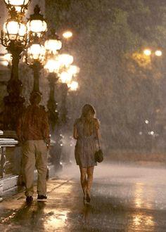 Paris in the rain   dustjacket attic