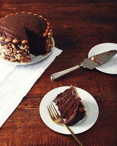 Brooklyn Blackout Cake. Dairy-free, vegan, perfection.   picklesnhoney.com