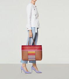 62dbd886f79d4 Vachetta Multi Tory Burch Block-t Dégradé Tote Handbags On Sale