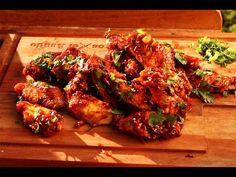Alitas de Pollo con Salsa Picante - Receta Locos X el Asado - YouTube