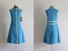 60s sailor dress