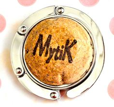 Champagne Purse Hook for Table  Purse Hanger  Portable by TheCraftyRascal, $20.00