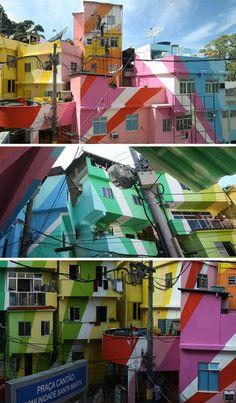 Dignificando la favela