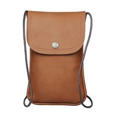 S7 Universal PU Leather Cell Phone Bag Shoulder Pocket Wallet Pouch Case Neck Strap For iPhone For HTC For LG For Samgung S7 YM