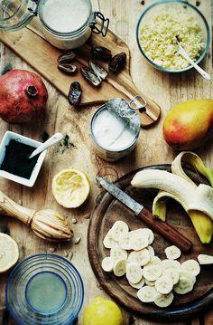 koktajl jaglany a'la smothie z bananem i mango 2 JPG