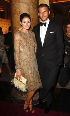 Olivia Palermo And Boyfriend Johannes Huebl At A Party In Monaco, September 2011