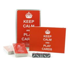 Keep Calm & Play Cards Playing Card Game Set In A Tin Robert Frederick http://www.amazon.co.uk/dp/B00K6LWQAK/ref=cm_sw_r_pi_dp_84alwb1MB34CD