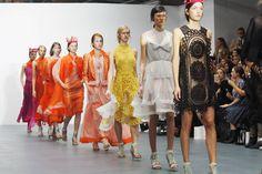 London Fashion Week Bora Aksu Spring Summer 2016