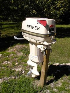 Unique outboard motor mailbox