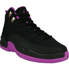 newest ab4fa 17fa2 Scarpe da Basket - Nike Donna Air Jordan 12 Retro GG Scarpe da basket - Nero  - misura 42.5