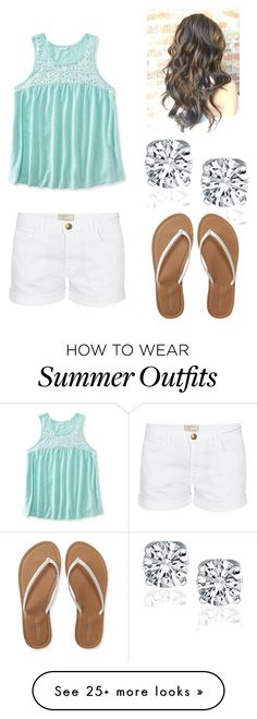 """""""Summer outfit"""" by brazlieghk on Polyvore featuring Aéropostale and Current/Elliott"""