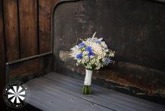 weeding bouquet bukiet z chabrami dla romantycznej Panny Młodej