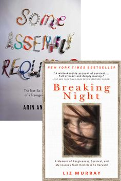 For another teen memoir, this one about a teen whose family unravels, try BREAKING NIGHT.