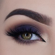 Makeup Inspiration navy smokey