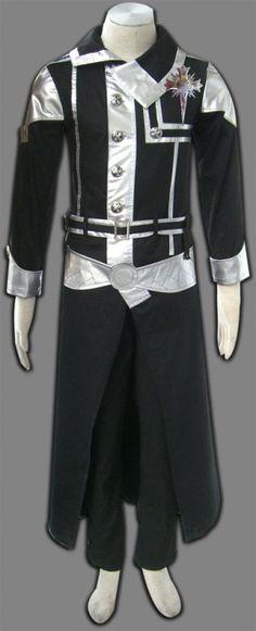 D.Gray-man Yu Kanda Cosplay Costume  $111.58
