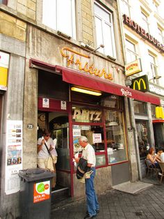 "They have the best fries in town @ ""Reitz"", Maastricht, The Netherlands"
