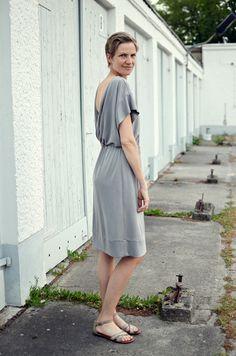 Bridgetown Backless Dress aus Modaljersey   Elle Puls