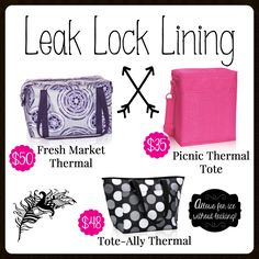 Leak Lock Lining Thermals, Thirty-One, Fall 2017 mythirtyone.com/Jpetty12 Contact me for details.