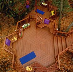 21 Creative Deck Ideas That Inspire Al Fresco Living Deck Ideas For Small Yards, Backyard Deck Ideas On A Budget, Small Deck Designs, Diy Deck, Diy Pergola, Backyard Decks, Deck Ideas Australia, Deck Seating, Hot Tub Deck
