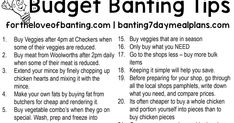 With the rise in food prices and wanting to be healthy, its a good idea to have some plans in place and tips to keep to your budget. Banting Diet, Chicken Heart, Meal Planning, Budgeting, Good Things, How To Plan, Eat, Healthy, Tips