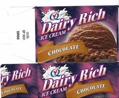 Dairy Rich Chocolate Ice Cream recalled