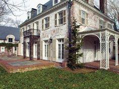 Image result for whitewashed brick house   house   Pinterest ...