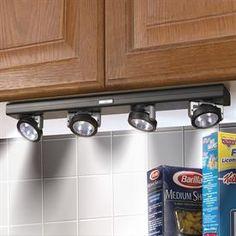 Wireless Super-Bright LED Under-Cabinet Lights   Lighting   Brylanehome