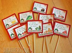 Very Hungry Caterpillar Party Ideas - SugarHero!