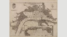 Like Evelyn's, Robert Hooke's proposal organises the city by its commercial endeavours