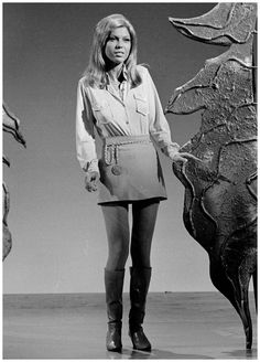 Nancy Sinatra's 1966 video for These Boots Are Made For Walking cemented her place in the