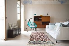 Appartamento in Liguria : Soggiorno in stile mediterraneo di con3studio
