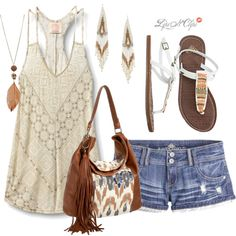 Boho Beauty, created by lipsnclips on Polyvore