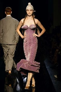 Jean Paul Gaultier Spring 2007 Ready-to-Wear Fashion Show - **Thirty Year Retrospective  1984 Barbès**