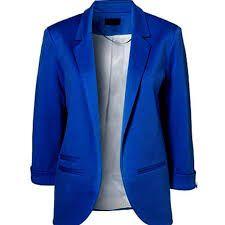 Image result for buttonless blazer
