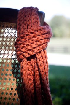 knitted fashionable scarf