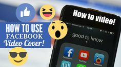 How to use Facebook Cover Video Feature - The Step by Step Guide Facebook Youtube, Facebook Video, Social Media Marketing Agency, Digital Marketing, How To Use Facebook, Quotes By Famous People, Business Pages, Training Programs, Being Used
