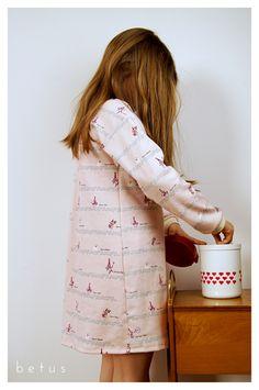 BIO Baumwoll Nachthemd für Mädchen von betus auf DaWanda.com