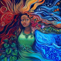 """Where there is woman, there is magic.""~ Earth Powers~~~ We inherit her natural powers of birth, transformation, healing, rebirth. These are the powers of woman, one in the same with the powers of the earth."