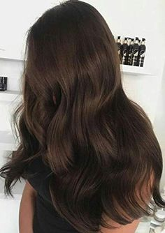 Long Wavy Ash-Brown Balayage - 20 Light Brown Hair Color Ideas for Your New Look - The Trending Hairstyle Brown Blonde Hair, Light Brown Hair, Dark Hair, Dark Brown Long Hair, Best Brunette Hair Color, Soft Black Hair, Brunette Haircut, Blonde High, Hair Colors