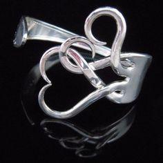 Creative Silverware Art Bracelet @ Do It Yourself Remodeling Ideas