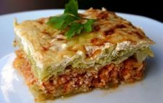 European Dishes, Hungarian Recipes, Hungarian Food, Lasagna, Meal Planning, Bacon, Food Porn, Food And Drink, Vegetables