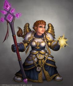 Dwarf Female Priest by ~Arsenal21 on deviantART