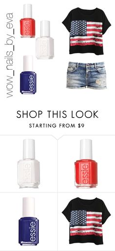 """""""wow_nails_by_eva"""" by wownails on Polyvore featuring Essie and Chicnova Fashion"""