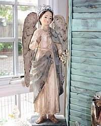French Antiques & French Country Decor and Luxury Gifts for Home and Garden . I Believe In Angels, Angel Aesthetic, Angels Among Us, Angel Statues, French Country Style, Angel Art, Sacred Art, Religious Art, Christmas Angels